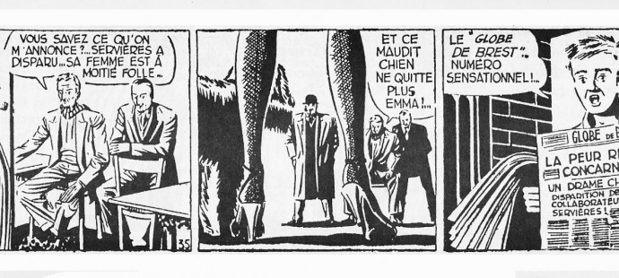 Daily Strips French golden age: Maigret