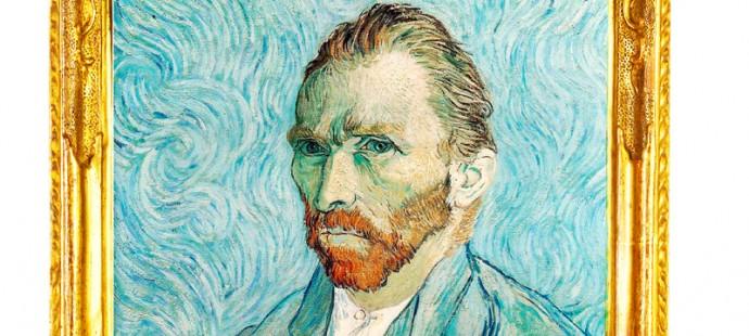 Van Gogh drinks Italian coffee