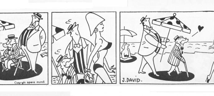 French strips artist, David