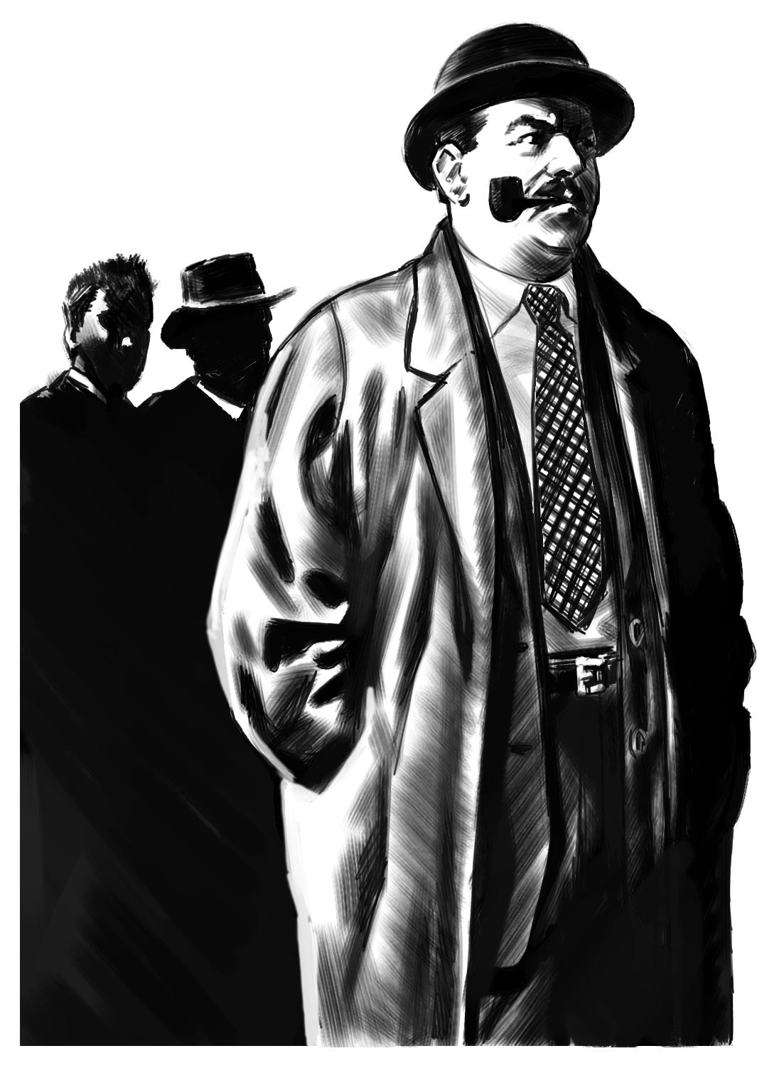 commissaire Maigret illustrato ?