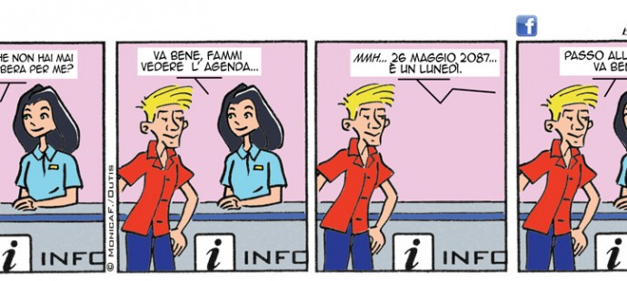 Xtina Sunday comic-strip
