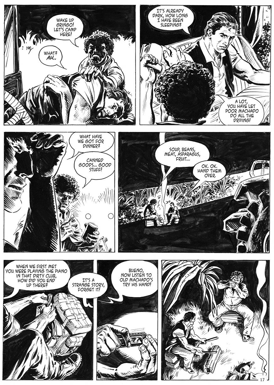 Adam pages 17 & 18 adventure in Cuba