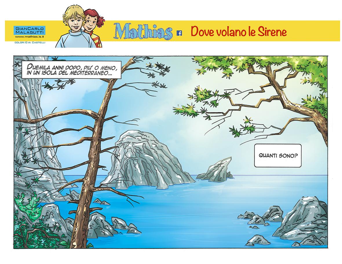 Mathias greetings from Mediterranean Island, volume 3