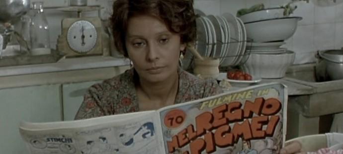 Sophia Loren legge il Dick Fulmine che non esiste