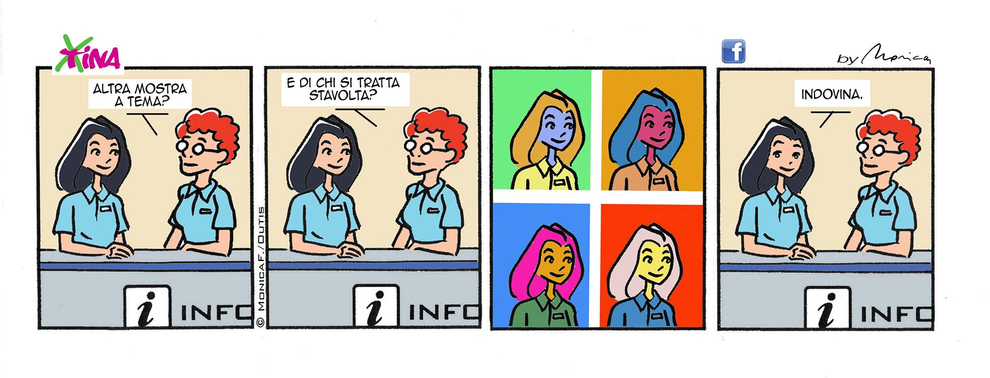 Xtina Sunday comic-strip, album #2