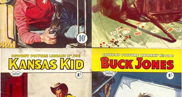 Cowboy Picture Library Covers