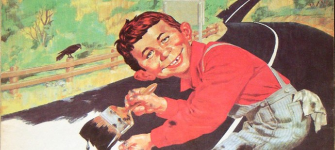 Mad magazine Cover from Lodi Italy