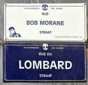 Rue Bob Morane Bruxelles