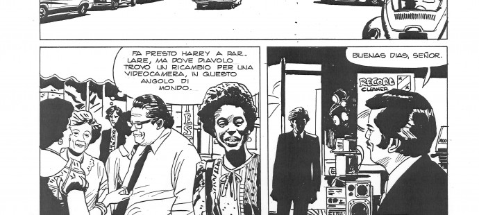 The Reporters, unpublished page