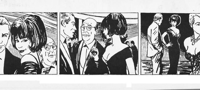 French comic strips golden age: Ghiglia