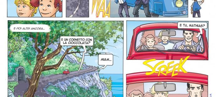 Mathias #21 fumetto settimanale