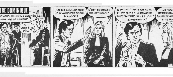 French Golden Age comic strips: Robert Rigot