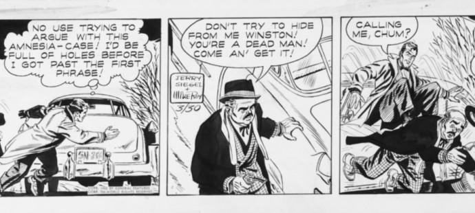 Classic Comic Strips, Ken Winston P.I.