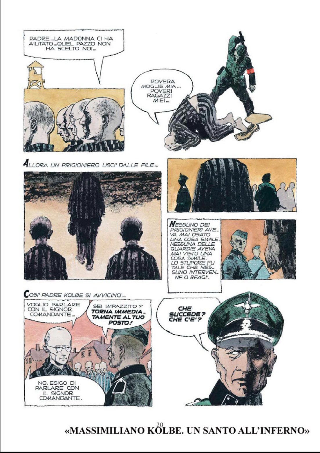 Dino Battaglia: Maksymilian Maria Kolbe