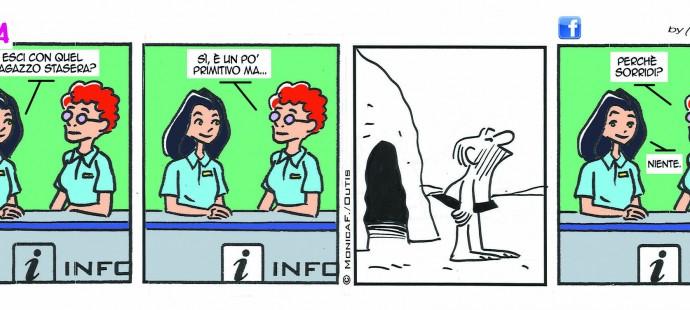 Xtina August comic strip