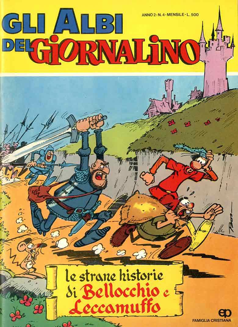 Giovanni Boselli Sforza fumetti