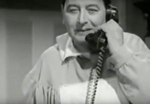 X-9 nel film i tre nemici del 1962 con Franco e Ciccio. copia
