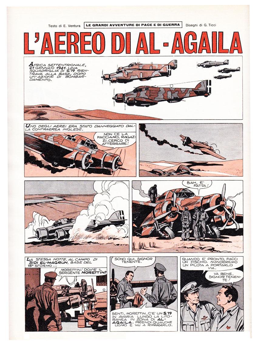 Giovanni Tex Ticci sul Corriere dei Piccoli