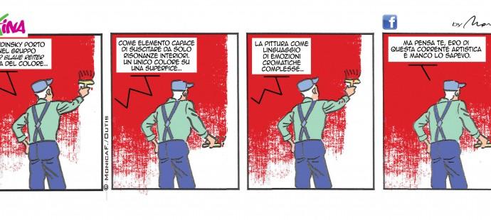 the Xtina's sunday comic strip