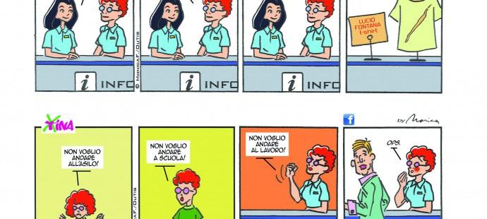 Xtina Double Comic Strip