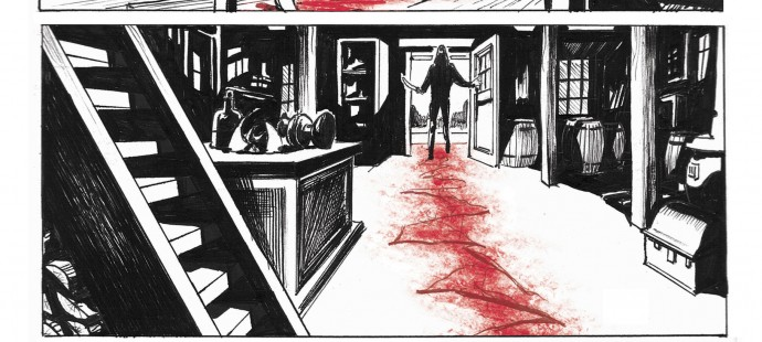 Lupo Western-Horror graphic novel page 4