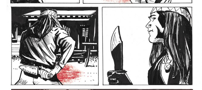 Lupo Western-Horror graphic novel page three