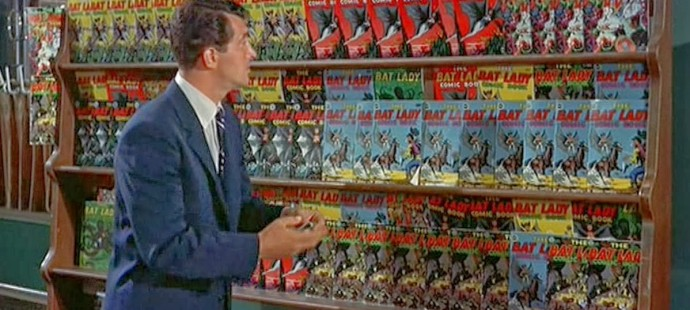 Dean Martin loved comic books
