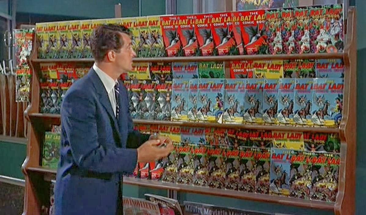 Dean Martin loved comic books