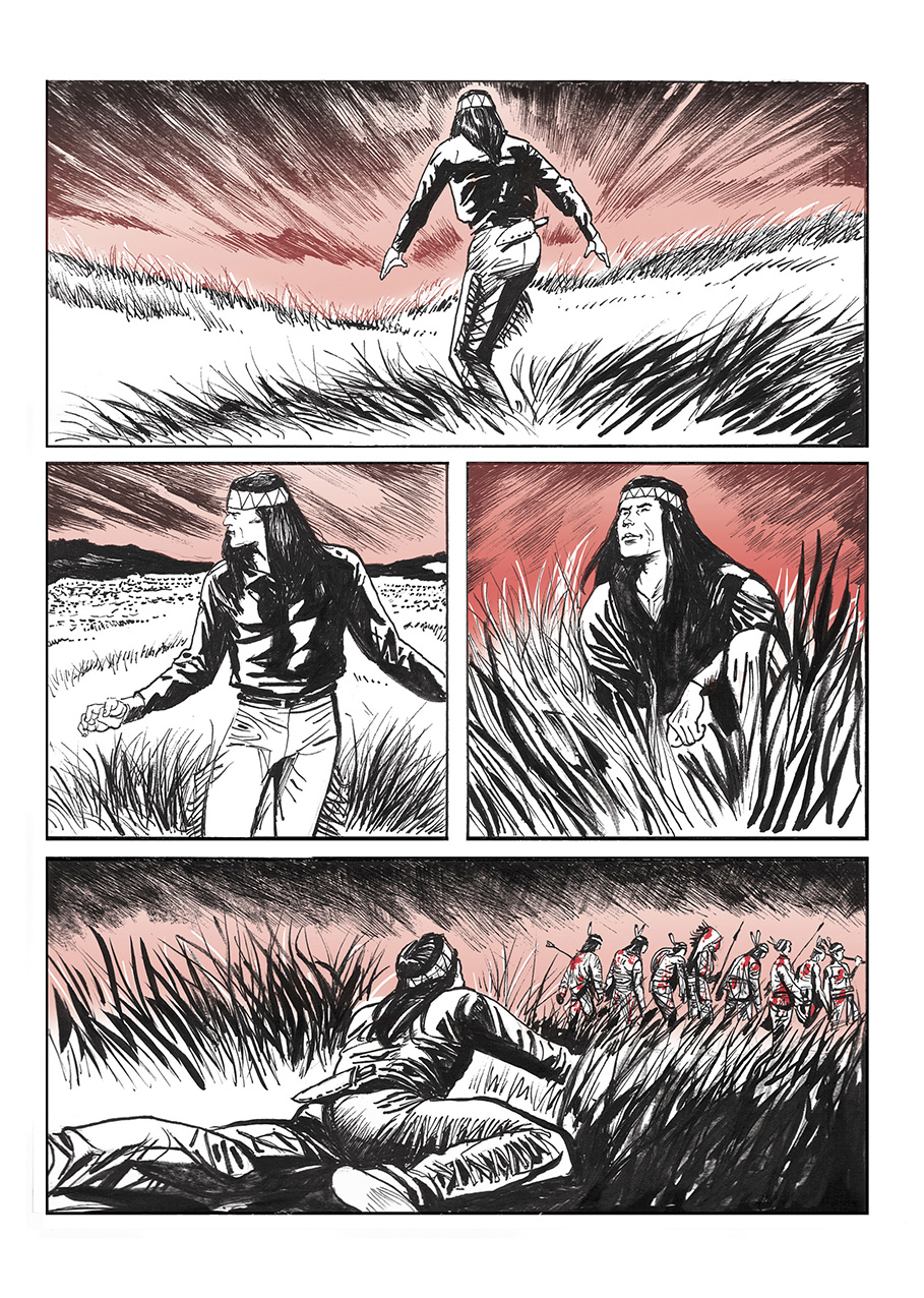 Lupo Western-Horror mini-serie page 10