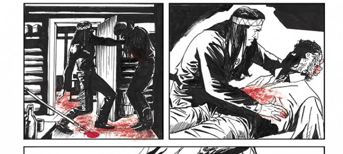 Lupo Western-Horror mini-serie page 7