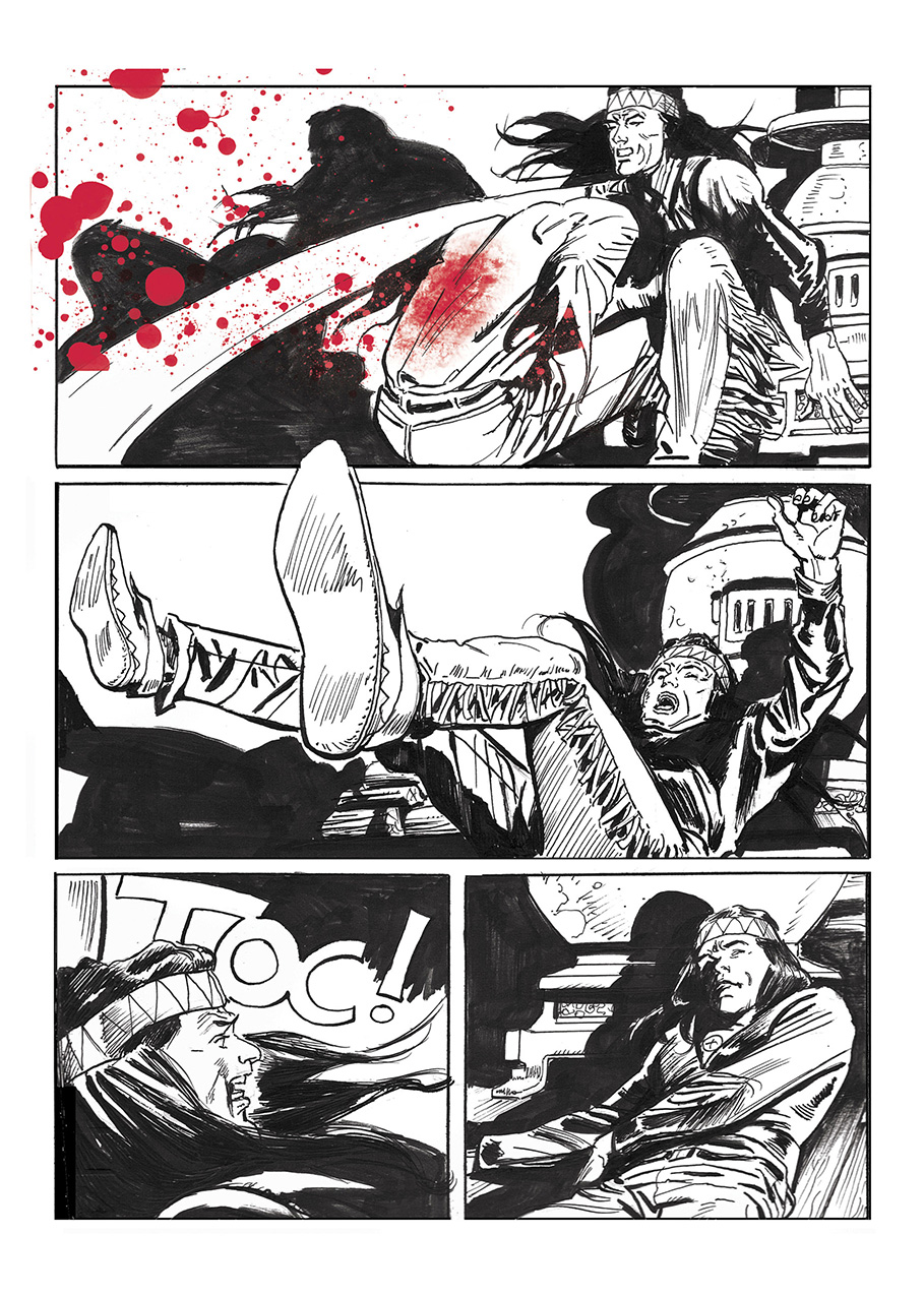 Lupo Western-Horror mini-serie page 8