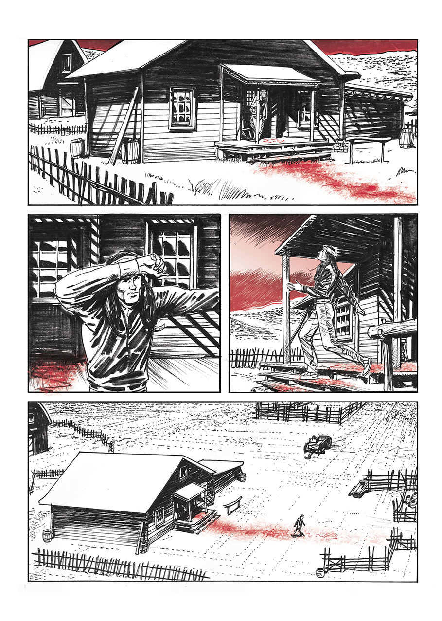 Lupo Western-Horror mini-serie page 9