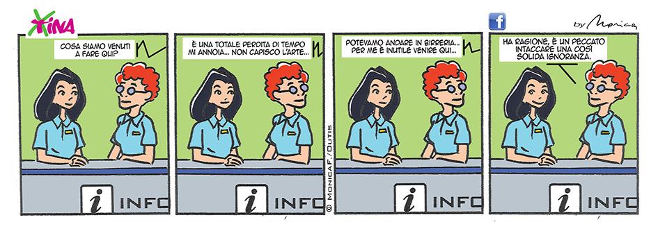 Xtina May Comic Strip