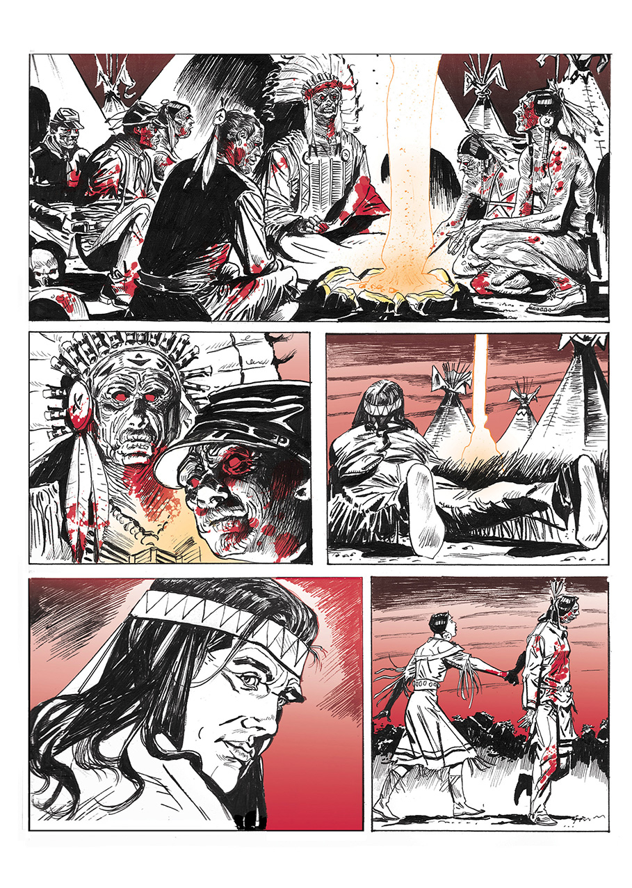 Lupo Western-Horror mini-serie page 12