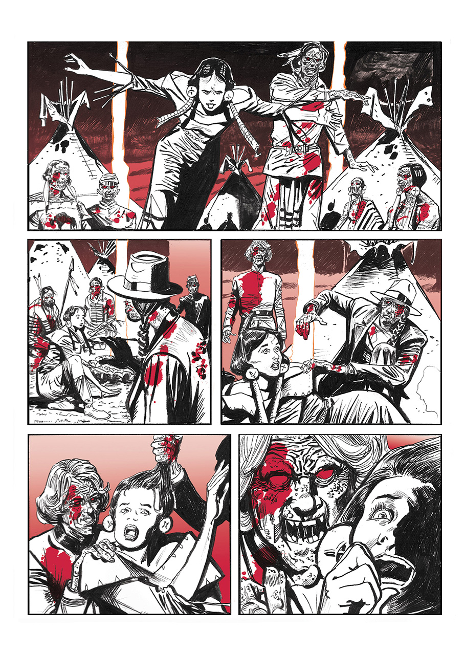 Lupo Western-Horror mini-serie page 13