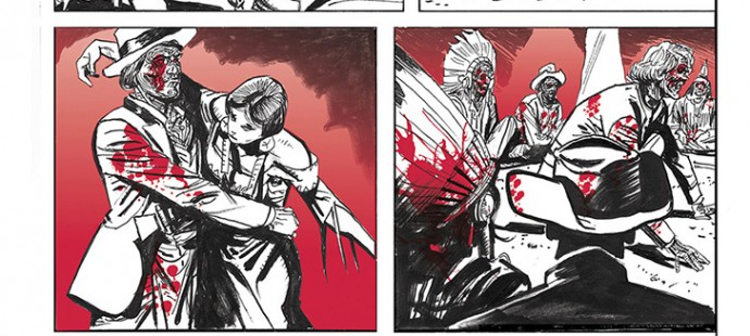 Lupo Western-Horror mini-serie page 14