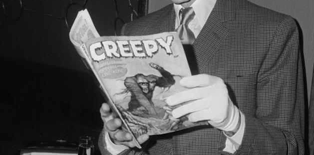 Peter Cushing reads Creepy