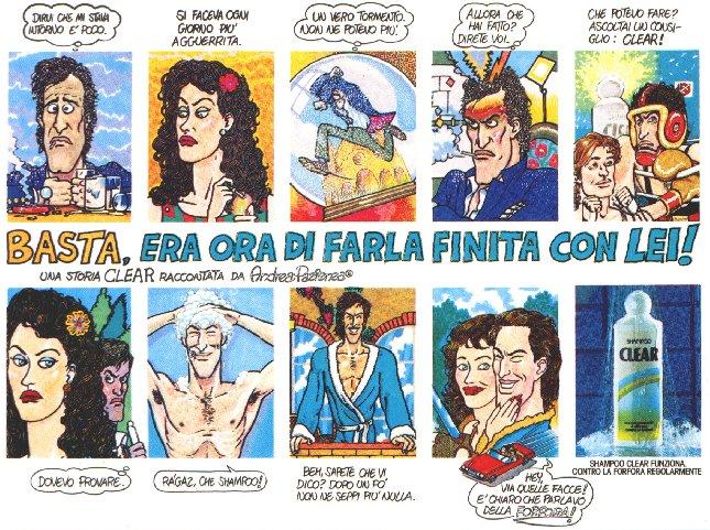 Andrea Pazienza Vintage Ad
