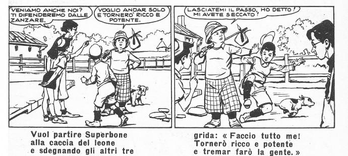 Fumetti Vintage: Superbone