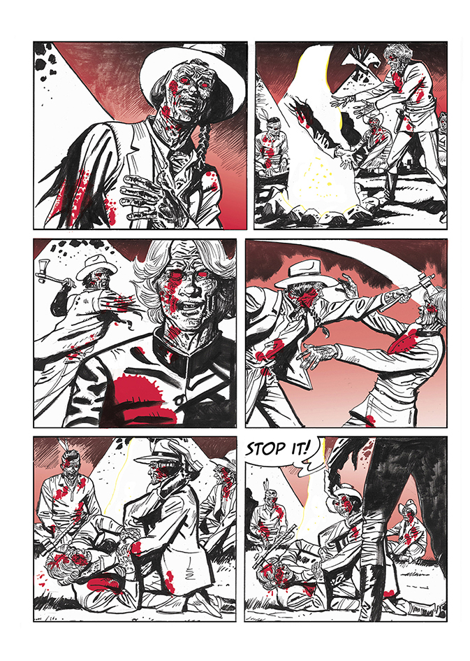 Lupo Western-Horror mini-serie page 15