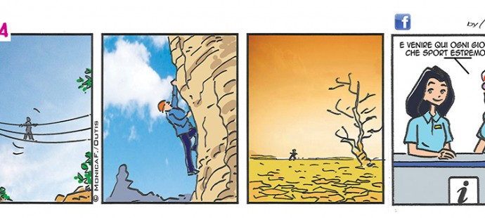 Xtina summer comic strip
