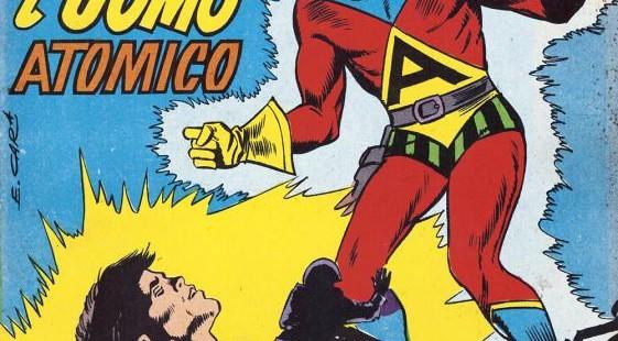 Fumetti Vintage 1962: Atomik l'Uomo Atomico