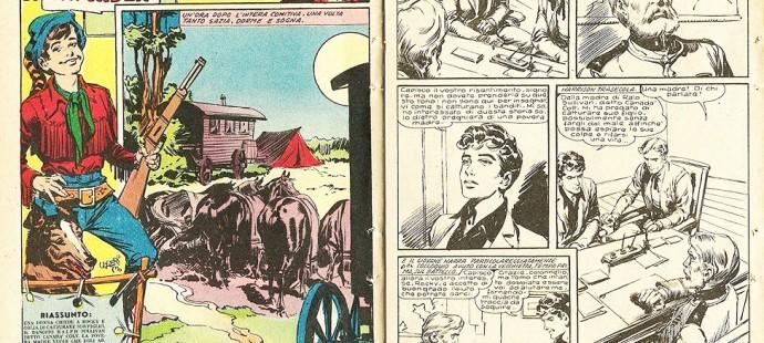 Fumetto Western Vintage: Rocky Rider