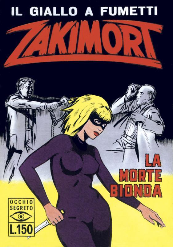 Zakimort fumetto vintage 1965
