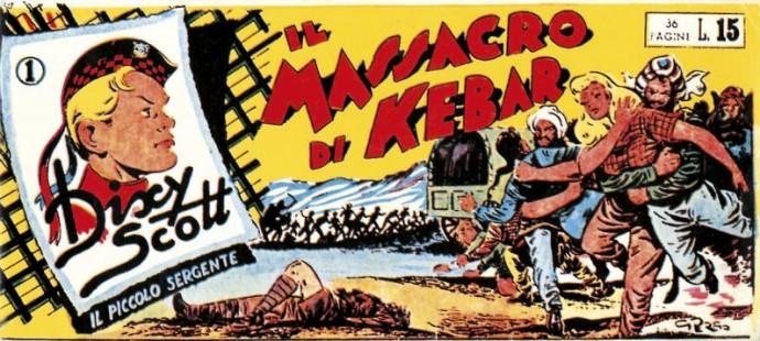 Fumetti italiani vintage Dixy Scott