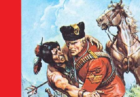 Fumetti vintage Jim Canada aka Dick Daring