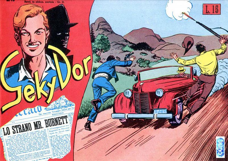 Geky Dor italian vintage comics books