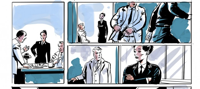 Protetto: Status Quo Graphic Novel Storyboard