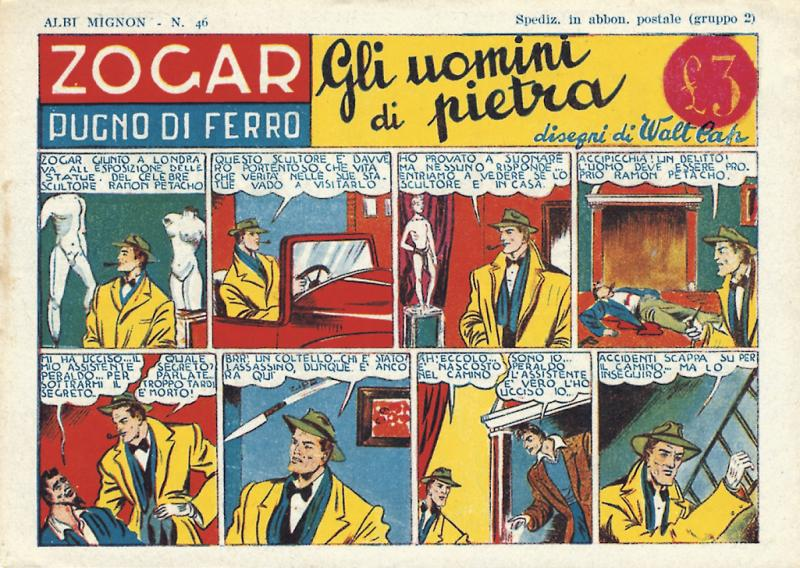 Fumetti italiani vintage: Zogar