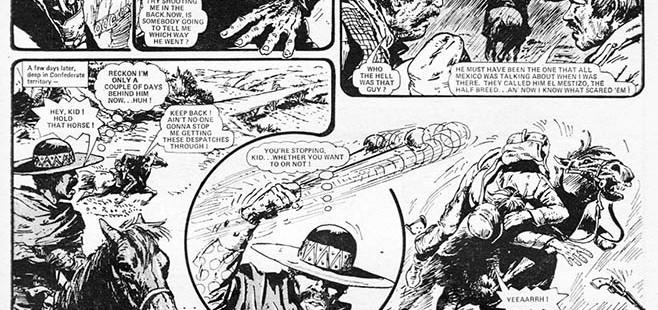 El Mestizio, unconventional Western series